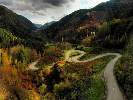 winding roads