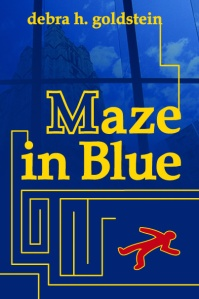 Maze in Blue Front Cover