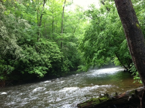 River near my house where I go to meet with God