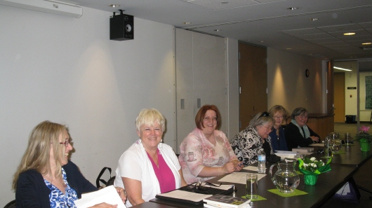 Madeleine Callway, Catherine Astolfo, Janet Costello, Helen Nelson, Jill Downie, Susan Daly