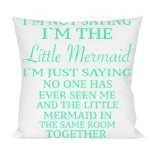 Little Mermaid Pillow - $15.99 CDN