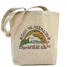 Save the Mermaids Tote Bag - $20.50 CDN