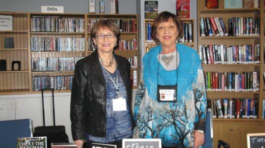 L-R Gloria Ferris, Donna Warner