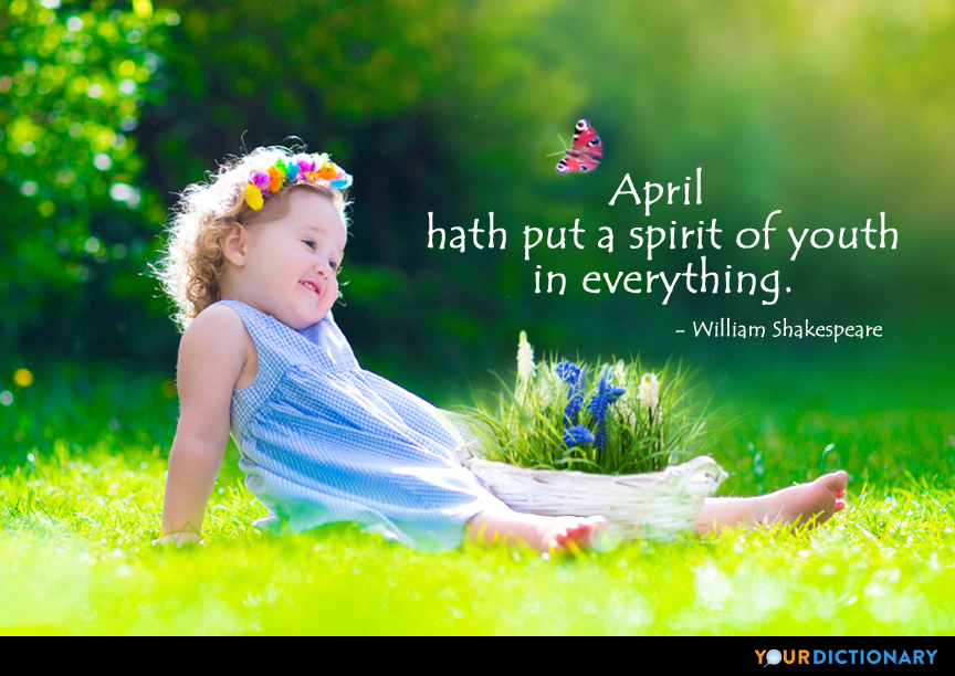 Happy April Joanne Guidoccio